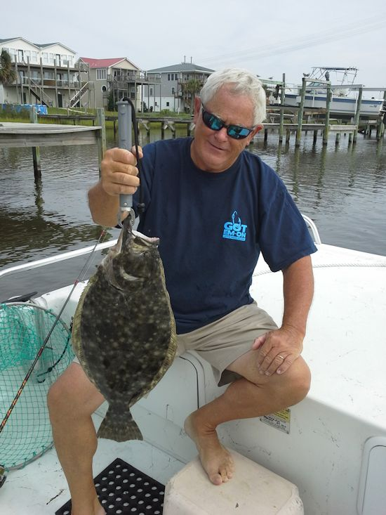Affordable charters fishing report for Topsail beach fishing report